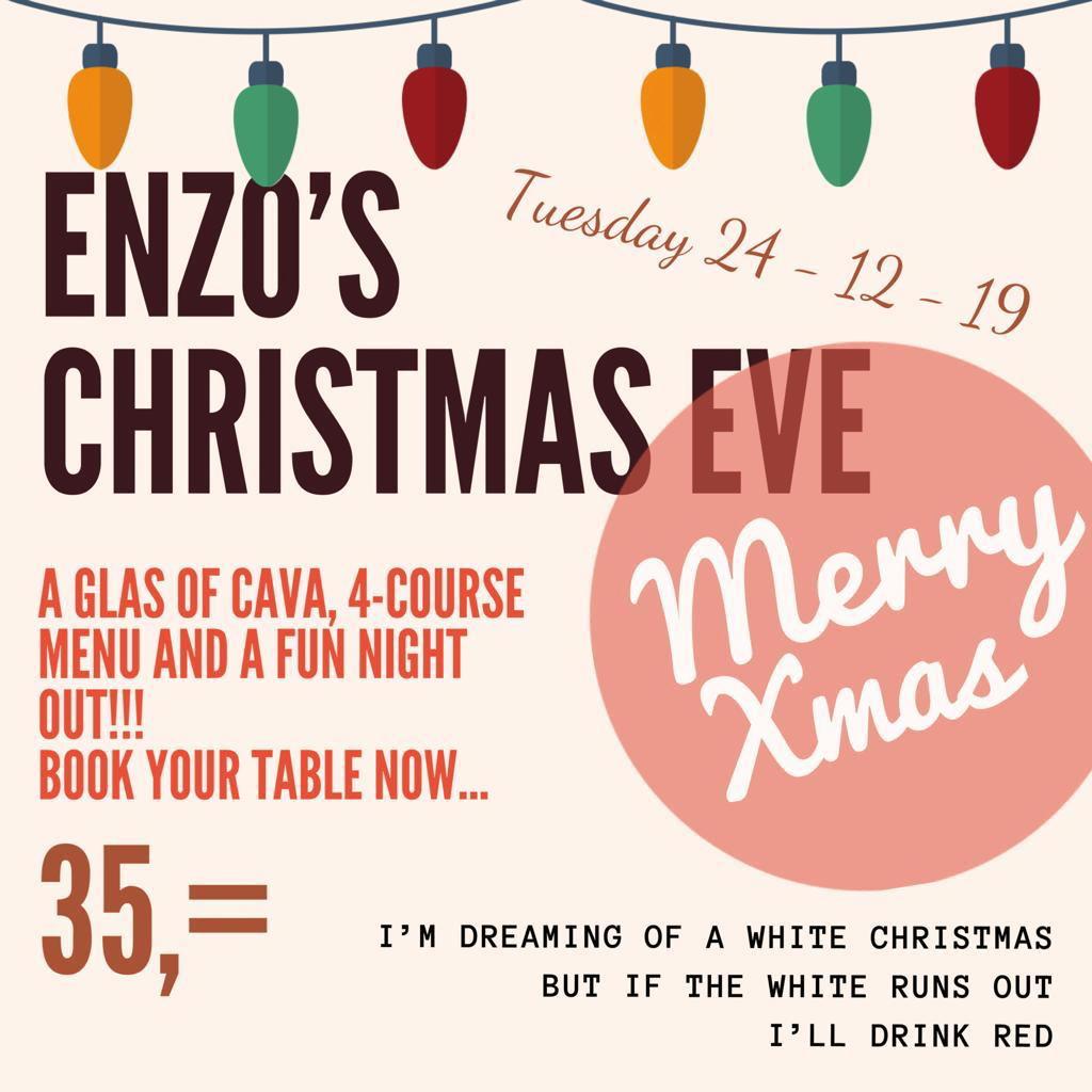 Bar Enzo Christmas Moraira